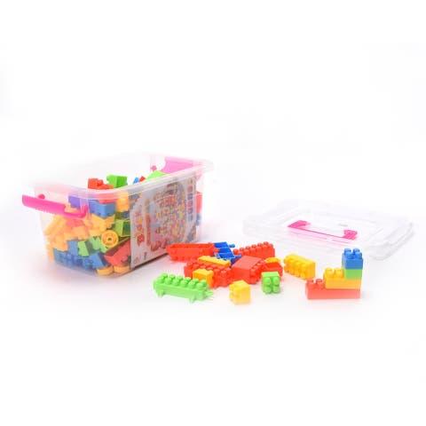 WonderPlay 192PCS Building Blocks Set Little Kid 4 - 6 years - MC