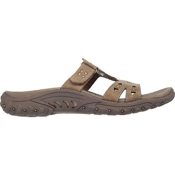 Shop Skechers Women's Reggae Trench Town Slide Sandal Desert