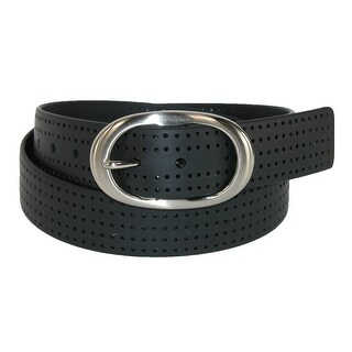 PGA TOUR Women's Silicone Perforated Golf Belt with Center Bar Buckle (3 options available)