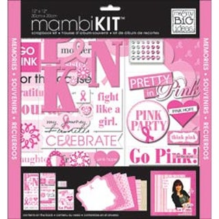 "Pretty In Pink - Me & My Big Ideas Page Kit 12""X12"""
