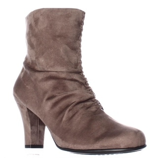 Aerosoles Good Role Memory Foam Slouch Boots - Taupe