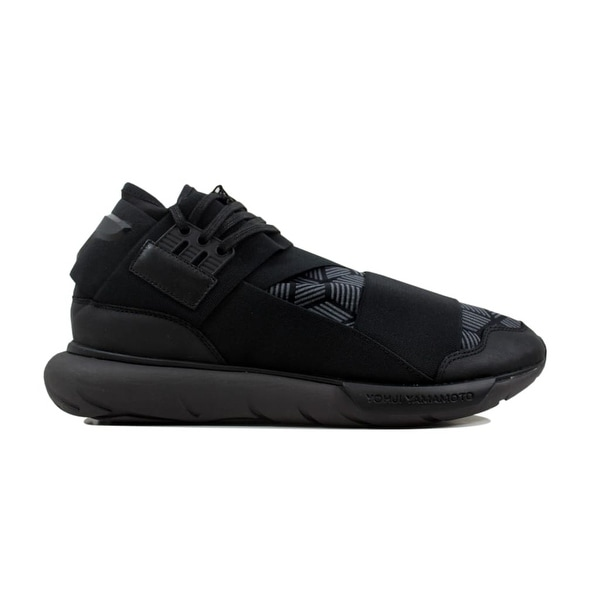 e6add9b858f88 Shop Adidas Men s Y-3 Qasa High Black Utility Black S82123 - Free ...