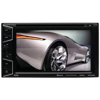 """Boss Double-Din 6.2"""" Widescreen Touchscreen Digital TFT Monitor DVD"""