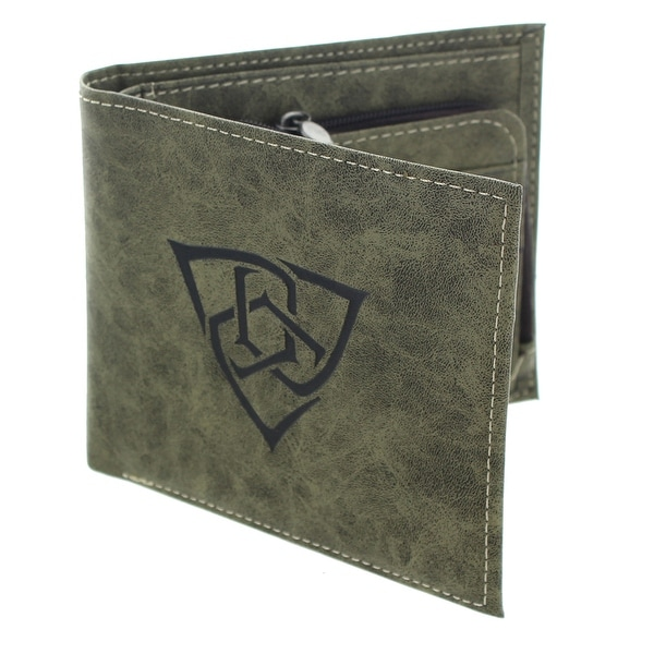 Gears of War 4 Embossed Outsiders Logo Bi-Fold Wallet - Multi
