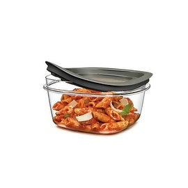 Rubbermaid 7H74-TR-CHILI Food Storage Containers, 1.25 Cup, Clear Base