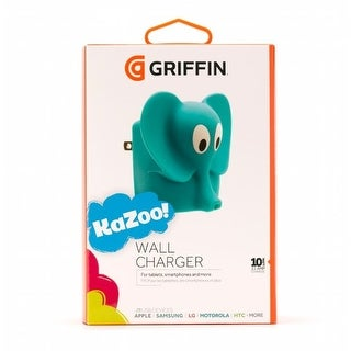 Griffin KaZoo Elephant 2.1A USB Wall Charger NA39138