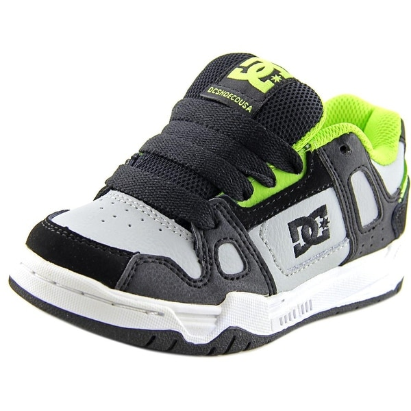 DC Shoes Youth's Stag   Round Toe Leather  Skate Shoe