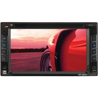 Dual XDVD1262 6.2 in. Double-Din In-Dash Dvd Receiver