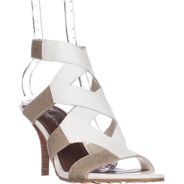 Donald J Pliner Gwen Strappy Sandals, Bone/Natural