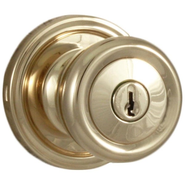 Shop Weslock 441o Sonic Keyed Entry Door Knob With Round Rose From