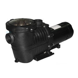 1 HP High Performance Self-Priming Full-Flow Hydraulic Swimming Pool and Spa Pump