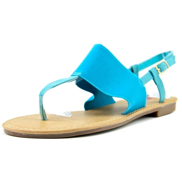Dollymix Anson Women  Open-Toe Synthetic Blue Slingback Sandal