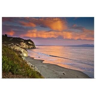 """""""Avila Beach at sunset."""" Poster Print"""