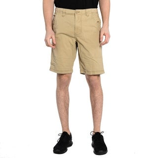 Men's Cargo Shorts In Camel