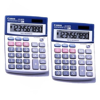 Canon HS1200TS Portable Display Calculator (2-Pack)