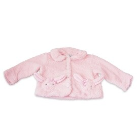Fuzzy Wear Pink Bunny Jacket 18-24 Months