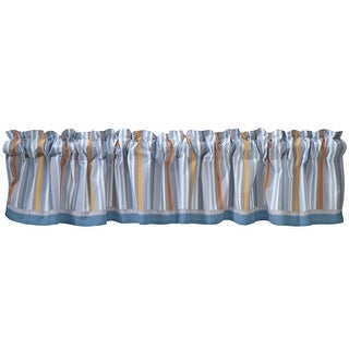 Bedtime Originals Blue Two by Two Window Valance