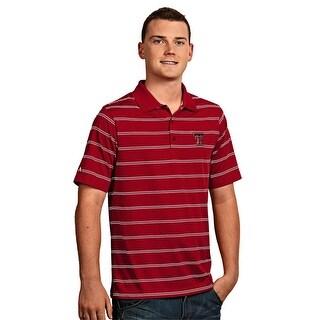 Texas Tech University Men's Deluxe Polo Shirt