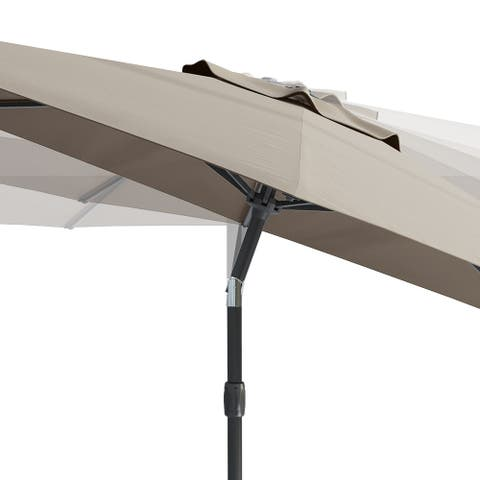 North Bend UV and Wind Resistant Tilting Patio Umbrella by Havenside Home, Base Not Included