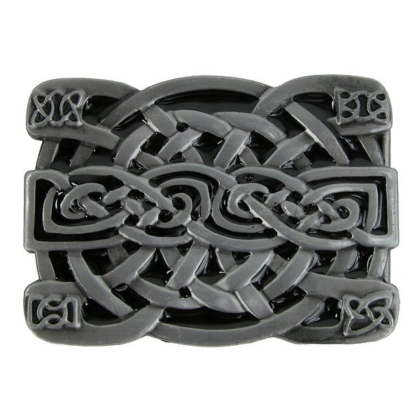 CTM® Square Celtic Knot Belt Buckle