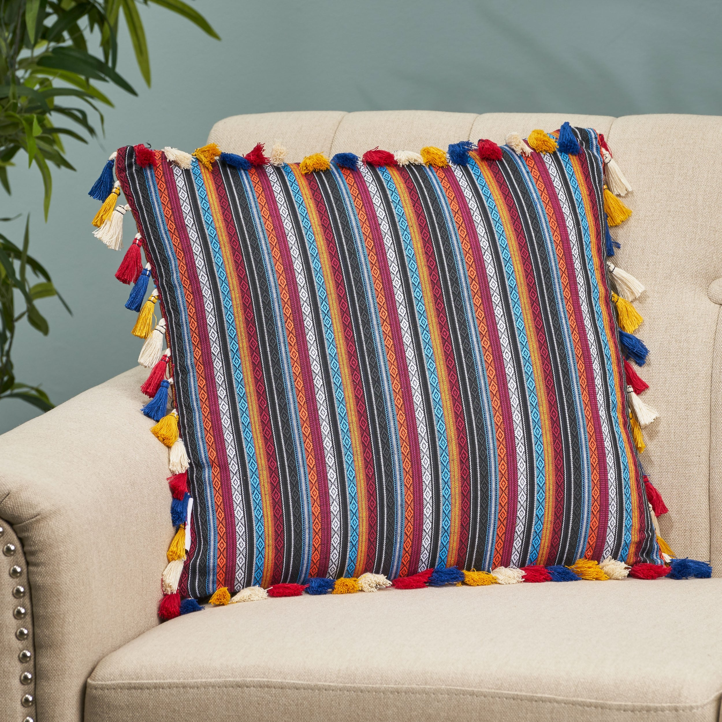 Shop For Barrington Modern Fabric Throw Pillow Cover By Christopher Knight Home Get Free Shipping On Everything At Overstock Your Online Home Decor Outlet Store Get 5 In Rewards With Club O 28807628