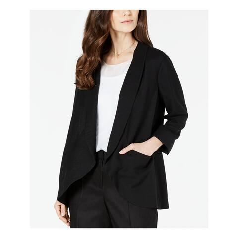 ALFANI Womens Black Blazer Jacket Size M