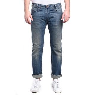 Diesel Iakop Men's Regular Slim-Tapered Denim Jeans 0R4S4