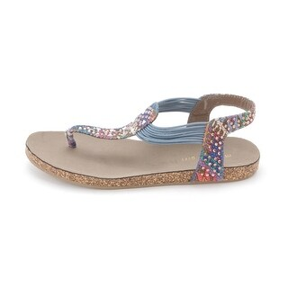 Material Girl Womens EMMIT Open Toe Casual Sandal