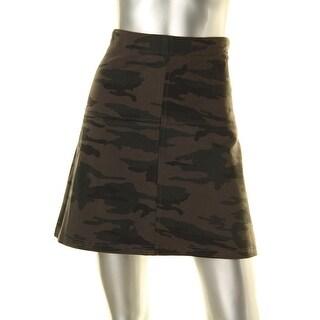 Sanctuary Womens A-Line Skirt Mini Ponte