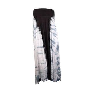 Raviya Women's Strapless Tye Dye Convertible Coverup