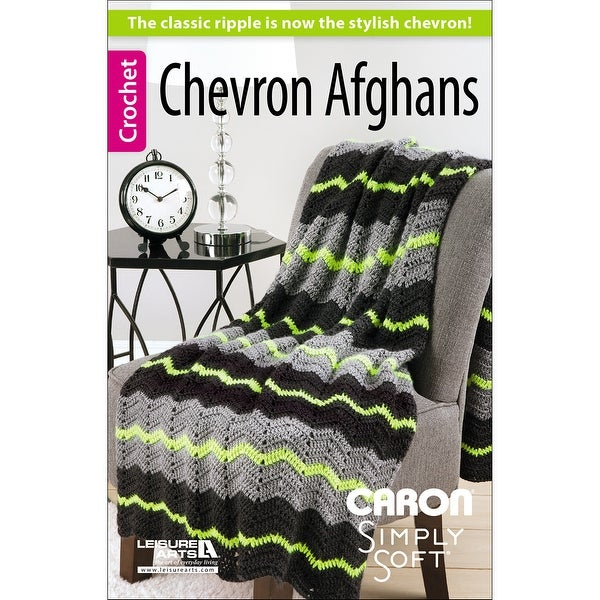 Leisure Arts-Chevron Afghans