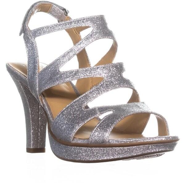 naturalizer Dianna Slingback Sandals, Silver Glitter