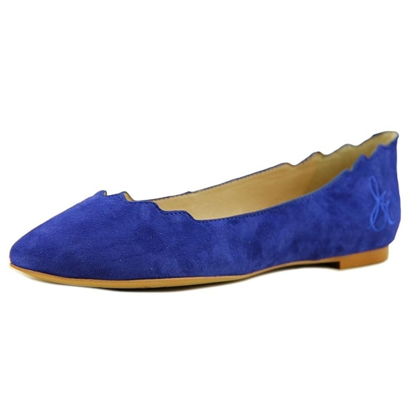 2c17a853563d Shop Sam Edelman Augusta Round Toe Suede Flats - Free Shipping On ...