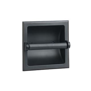Design House 539254 Oil Rubbed Bronze Recessed Toilet Paper Holder from the Millbridge Collection