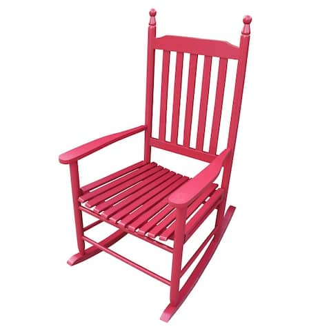 Outdoor Rocking Solid Wood Chair