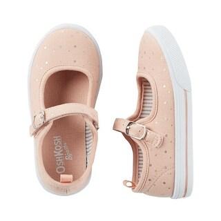 OshKosh B'gosh Little Girls' Mary Jane Sneakers, 5 Kids
