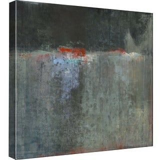 """PTM Images 9-98850  PTM Canvas Collection 12"""" x 12"""" - """"Slate View"""" Giclee Abstract Art Print on Canvas"""