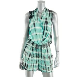 Young Fabulous & Broke Womens Modal Tie-Dye Romper - L