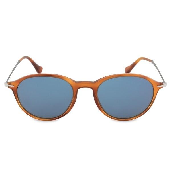 973468c336 Shop Persol Reflex Edition Round Sunglasses PO3125S 96 56 49