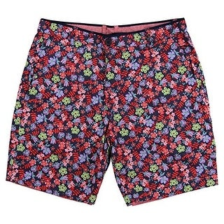 Islandia Men's Reversible Flat-Front Shorts