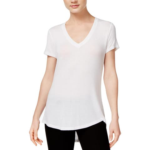 Rachel Rachel Roy Womens T-Shirt V-Neck Hi-Low