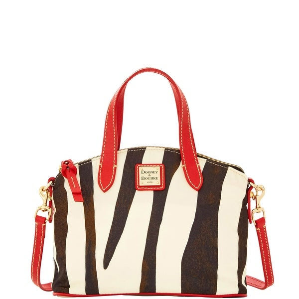 Dooney & Bourke Nylon Ruby (Introduced by Dooney & Bourke at $158 in Jan 2016) - Zebra
