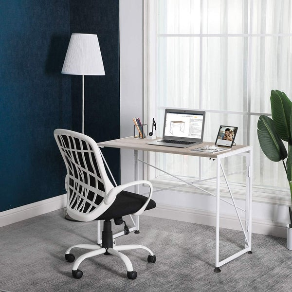 NOVA FURNITURE Folding Home Office Computer Desk for Dormitory and Urban Apartment. Opens flyout.