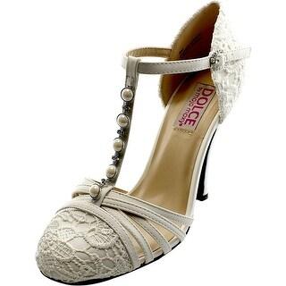 Dolce by Mojo Moxy Bunny Women Open Toe Leather White Sandals