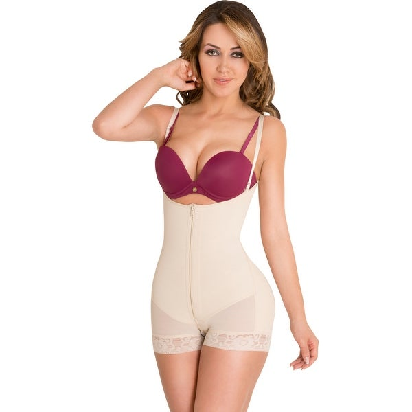 625fa52efd014 Powernet Butt Lifter Slimming Body Shaper Strapless Post-Surgery Postpartum Girdle  Fajas Colombianas