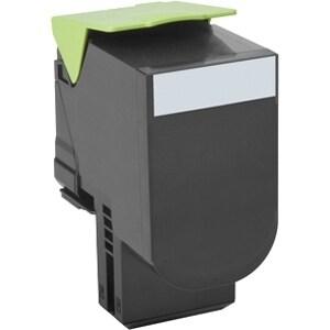 Lexmark 80C00CG Lexmark Toner Cartridge - Cyan - Laser - 1000 Page - 1 Each