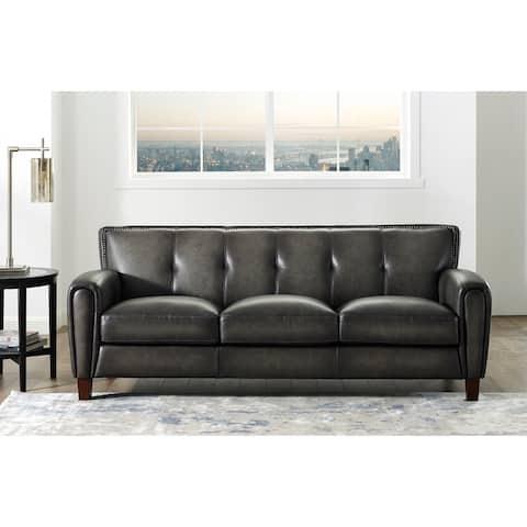 Hydeline Weldon Top Grain Leather Sofa