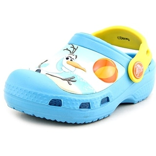 Crocs Creative Crocs Olaf Clog Toddler  Round Toe Synthetic Blue Clogs