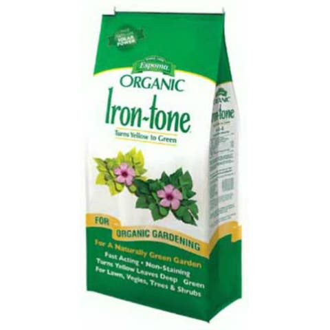 Espoma IT5 Iron-Tone All Natural Iron Supplement Plant Food, 2-0-3, 5 Lbs