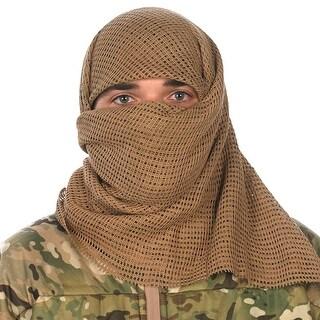 """Proforce 61070 Sniper Face Veil Desert Tan 100% Cotton 48 x 40"""""""" New"""